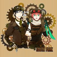 Steampunk style! by shiron2611