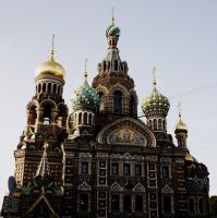 Church of the Savior on Blood by grigant