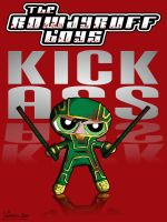 Rowdy Ruff Boy Kick-Ass by thesometimers