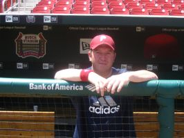 Me in St. Louis Cardinals Dug by RaySark