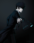 Enforcer Shinya Kougami | Psycho-Pass by DivineImmortality