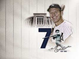 Mickey Mantle by Satansgoalie