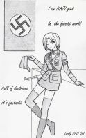 Lovely NAZI Girl by carrot25