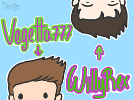 Willyrex - Vegetta777 3 by GenerisMomo