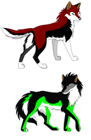 wolf adoptables by wildwhitewolf19