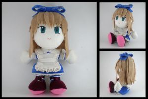 Alice plushie by eitanya