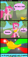 Pinkie and the Genie by TabbyDerp