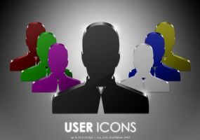 User icons by MDGraphs