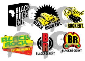 BLACK ROCK LOGO SAMPLES by truthdondie