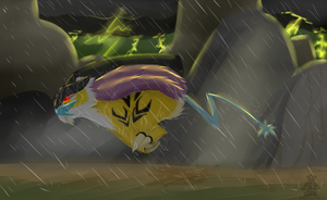 Racing the Storm by Captain-Grizzly