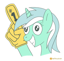 Crazy Happy Lyra by muffinexplosion