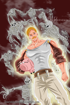Escanor227 by MariaBlueNeko