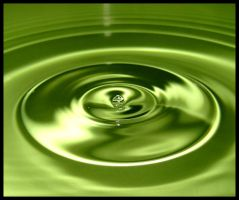 Green Ripples by FramedByNature