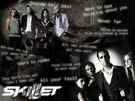 Skillet Wallpaper by UltimateAnimeGirl