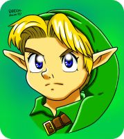 Young Link by RANDOM-drawer357