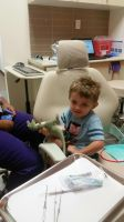Dentist and dinosaurs by RLN