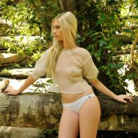 Kahli - sheer cream 7 by wildplaces