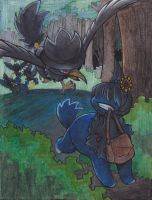 PMA Mission 2 - Thief Murkrows by Mifuu