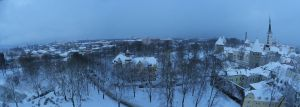 Winter panorama 1 by MouseClock