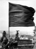 Flag over the Reichstag part 2 by RussianBear2345
