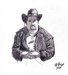 Cowboy Charcoal by DrummerWolf