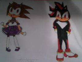 Kate und Shadow request for Wanda091 by TheHedgehogMaria