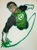 Per Art: Huge Green Lantern by thewiredslain