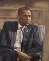 President Barack Obama by mikepatterson