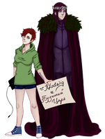 Me and Elderberry King by KlodwigLichtherz