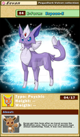DATA: E-04 .:ESPEON-E:. by PEQUEDARK-VELVET
