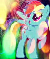 My Little Pony Rainbow Dash icon by runawaymintyg3