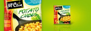 Design packaging McCain by 2arts