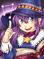 Cute Astronomy Mage by Karmada