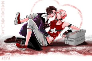 Valentines Day: No escape -  Switzerland x Austria by Zamarazula