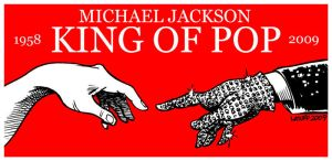 Michael Jackson King of Pop by Latuff2