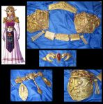 Princess Zelda Armor: OoT by Lvl99-Cosplay