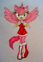 Amy Rose the Alicorn-hog by GothNebula