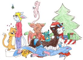 Merry 'late' Christmas by ShadowPoni