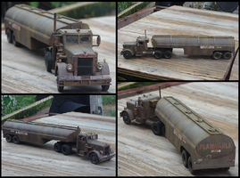 Duel truck - 1:43 scale by lonewolf3878