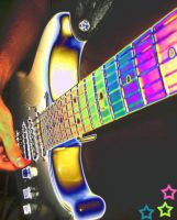 Rainbow Guitar by OeCrEw4LiFe14