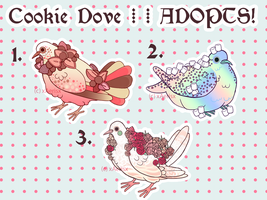 (CLOSED!) cookie dove adopts batch 3! by xAerisx