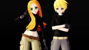 [MMD] Kim Possible [No more DL] by Vamm-kun