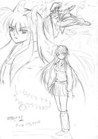 Inu art draft two by hakeshsama