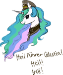 . Heil Fuhrer Celestia . by LittleLaceDress