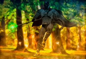 Black Panther by hiram67
