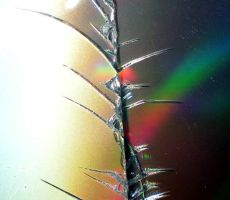 Stock texture - Cracked CD by rockgem
