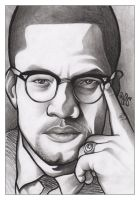 Malcom X by jrodrigues