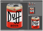 Duff Beer by Mickka