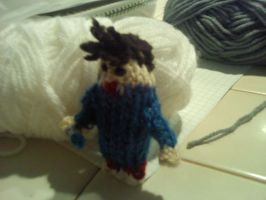 Knitted 10th Doctor by thenextdoctor42
