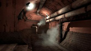 Resistance: Burning Skies - Sewer Tunnels. by kafkin
